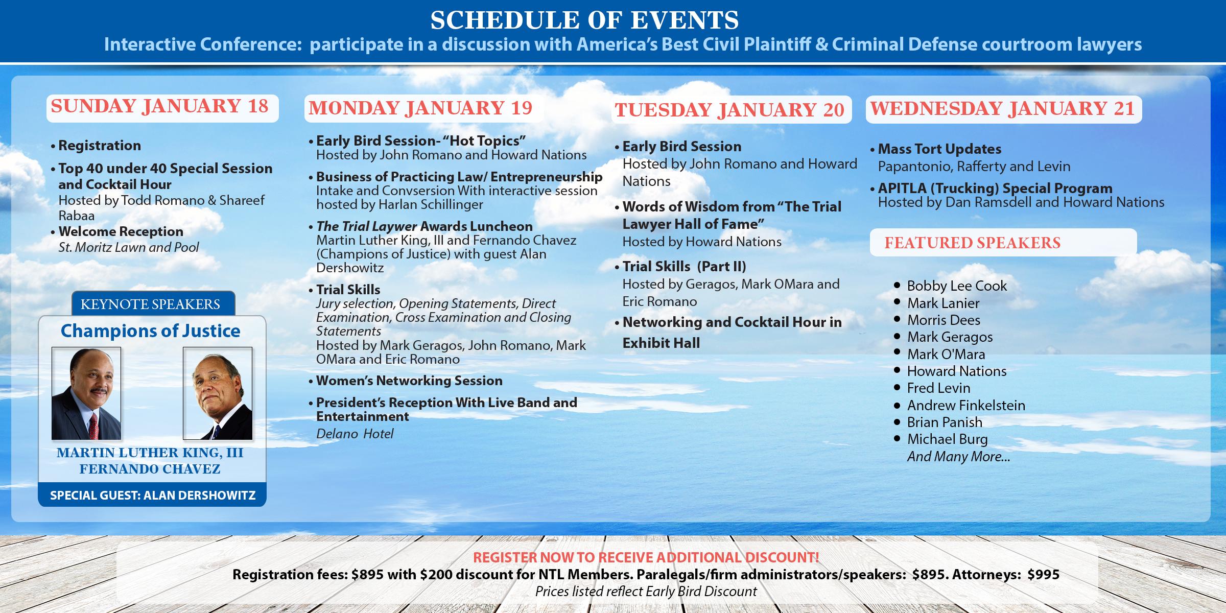 NTL 2015 Trial Lawyers Summit