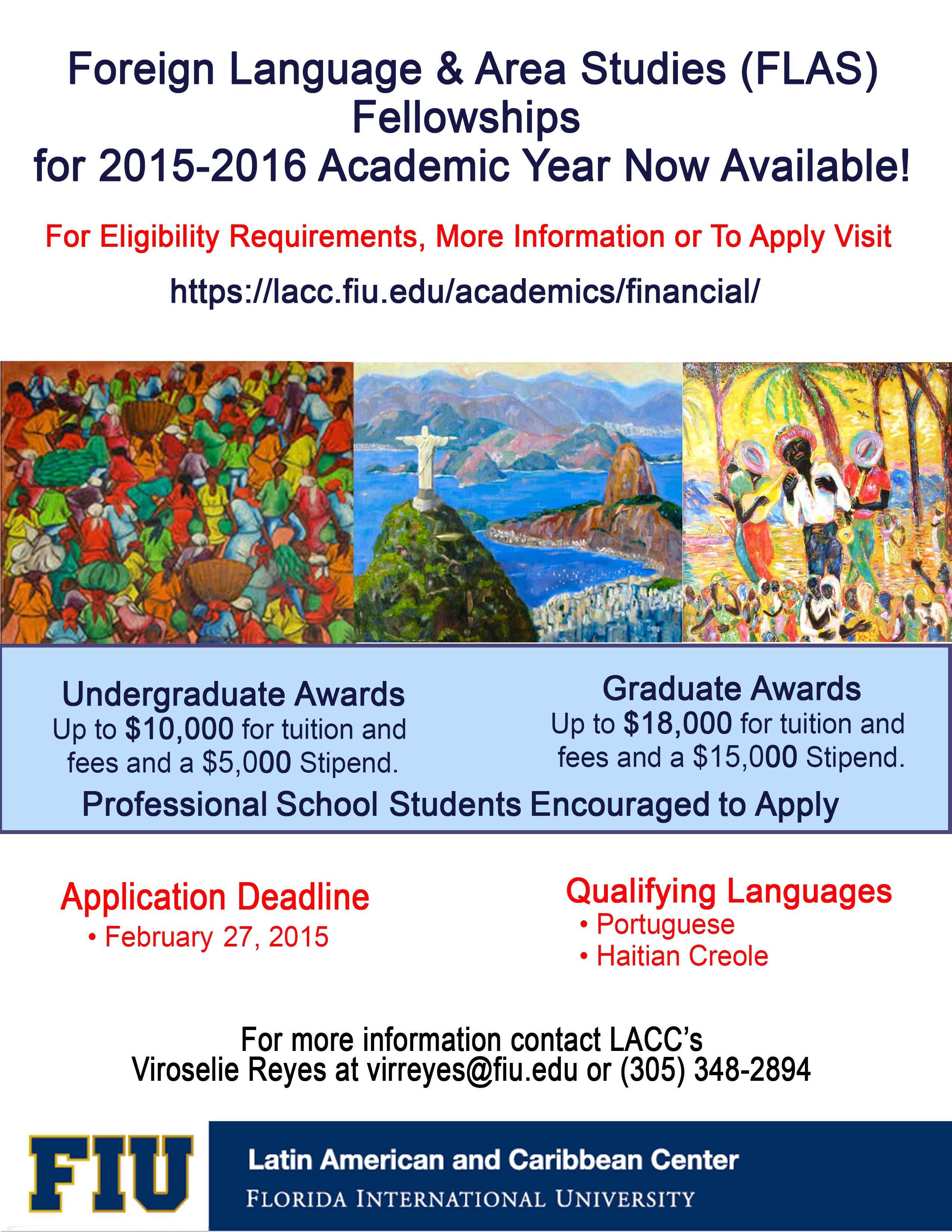 FLAS Academic Year 2015-2016